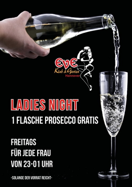 Freitags Lady's Night im Eve!